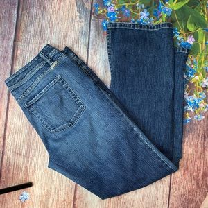 White House Black Market Straight Leg Jeans 14S